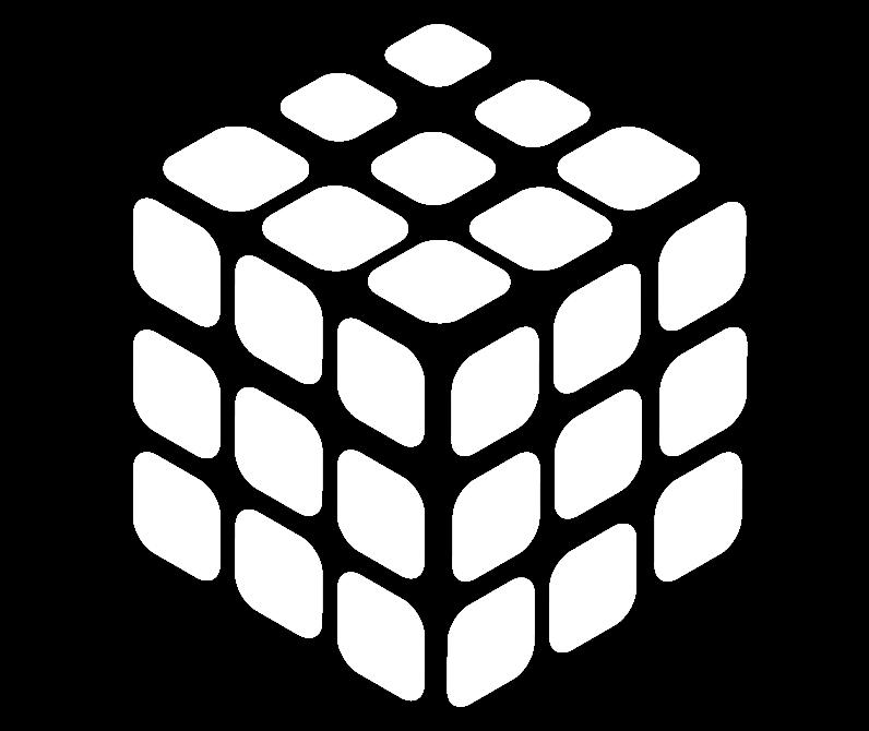 rubikskub—lines—white